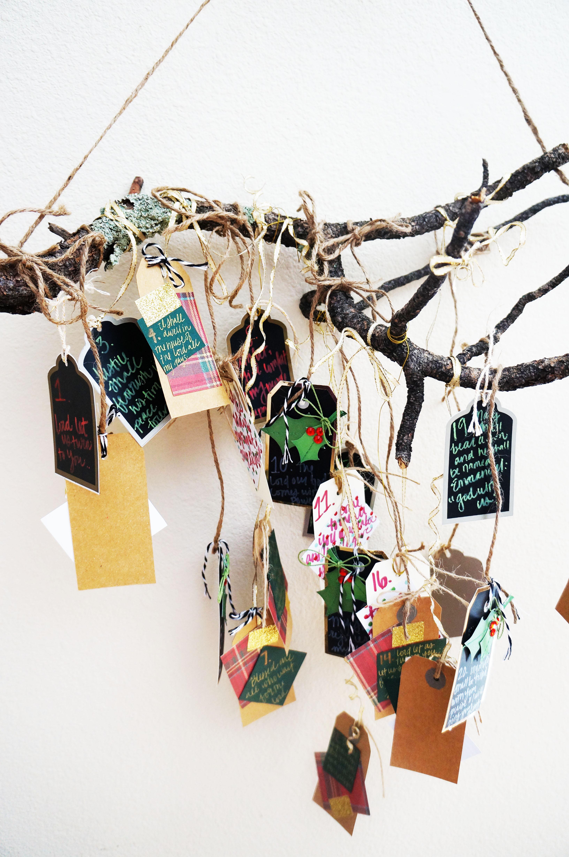 diy advent calendar page by paige. Black Bedroom Furniture Sets. Home Design Ideas